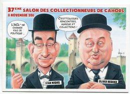VEYRI - Carte Pirate 37éme Salon De CAHORS - Sénateurs Du Lot - Tirage Limité - Voir Scan - Veyri, Bernard