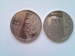 5 Pesos 2018 New Generation Series (8 Pcs) - Philippines