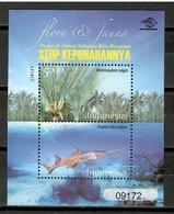 Indonesia 2013 / Fishes Fish Plants Palm MNH Fische Blumen Peces Plantas Poisons / Cu10303  30 - Peces