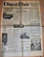 Rare Journal L'Ouest-éclair Du 6 Juillet 1940 - 1939-45