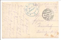 Feldpost/Poste Militaire. 52.inf.Div 20.9.16 - Besetzungen 1914-18