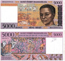 Madagascar 5000 Francs - Madagascar