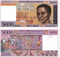Madagascar 5000 Francs - Madagaskar
