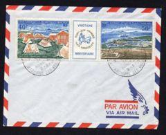 T.A.A.F : BELLE  ENVELOPPE AVEC Y&T  AERIEN  N° 26A , C A D  DU 9  MARS  1971 . - FDC