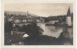 SOLOTHURN Gel. 1924 N. Uznach - SO Soleure