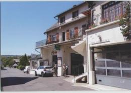 CPM 15 SAINT URCIZE ... Garage Citroën, SARL Nicolas Et Fils (Livenais 300618) - Autres Communes