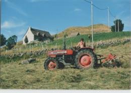 CPM 48 MARCHASTEL ... Les Fenaisons (Livenais MA310707) Tracteur - Autres Communes