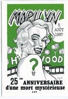 VEYRI - 25éme Anniversaire De La Mort De Marilyn MONROE - Tirage Limité - Voir Scan - Veyri, Bernard