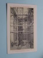 L'Intérieur Des Travaux De L'Eglise N.D. De L. à Nancy - Le Choeur 15 Mai 1911 (Abbé LOEVENBRUCK ) ( Zie/voir Photo ) ! - Nancy