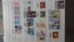 Grosse Collection De Timbres + Blocs + Carnets D'Israël Tous Avec Tabs Et **. Côte ++ A Saisir !!! - Briefmarken