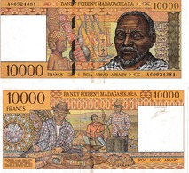 Madagascar 10000 Francs - Madagascar