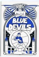 "VEYRI - Les ""Blue Devils"" CAHORS-BASE-BALL-CLUB - Tirage Limité - Voir Scan - Veyri, Bernard"
