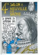 VEYRI - 4ème Salon De NEUVILLE-sur-SAONE - 1988 - Salvador DALI - Voir Scan - Veyri, Bernard