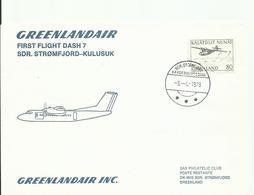 GROENLANDIA, SOBRE PRIMER VUELO - Groenlandia
