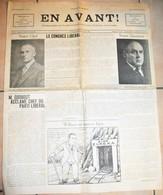 "Rare Journal De Combat Franco-canadien ""En Avant "" 17 Juin 1938 - Altri"