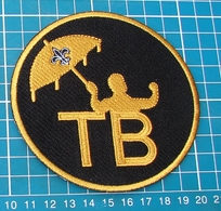 2018 Tom Benson Memorial Jersey Patch - New Orleans Saints - TB - New Orleans Saints - New Orleans Saints