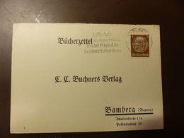 Postkarte Bücherzettel Luftschutz Koblenz 1940  #cover4293 - Briefe U. Dokumente
