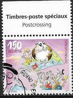 """2017 Schweiz Mi. 2501 FD-used  Postkartennetzwerk """"Postcrossing""""EU-Mitglieder Bekommen Postkarte Aus Der Schweiz - Zwitserland"""