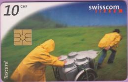 Télécarte Suisse °° SE.33. Transport Du Lait - 10CHF - Gem2 - 04.1998 - R. - Suisse