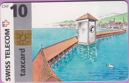 Télécarte Suisse °° SE.6. Pont Chapelle - 10CHF - Gem8 - 07.1996 - R. - Suisse