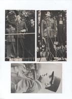 (lot  3 Photos  Reproduction ?)  De -Gaulle 15.5 Cm  X 9 Cm - Guerre, Militaire