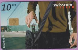 Télécarte Suisse °° SE.120. Cabine En Sacoche - 10CHF - CL1 - 02.2002 - R. - Suisse