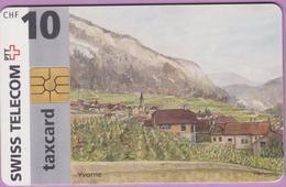 Télécarte Suisse °° SE.2A. Yvorne - 10CHF - Gem2 - 08.96-02.99 - R. - Suisse