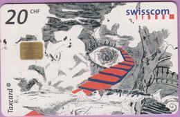 Télécarte Suisse °° SE.118. Chemin Vers Le Rêve - 20CHF - Gem8 - 01.2002 - R. - Suisse