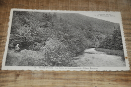 6886-    TROIS-PONTS, LA SALM ET LA PROMENADE ALBERT BONJEAN - Trois-Ponts