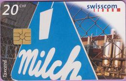 Télécarte Suisse °° SE.34. Milch - 5CHF - Gem2 - 04.1998 - R. - Suisse