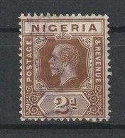 MiNr. 3  Nigeria 1914/1927. Freimarken: König Georg V. - Nigeria (1961-...)