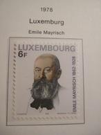 LUXEMBOURG. 1978.   MEYERISCH   MNH.    IS17-NVT - Idées Européennes
