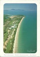 "Port Douglas (North Queensland, Australia) Four Mile Beach, Aerial View, Thematic Stamp ""Footrace"" - Australia"
