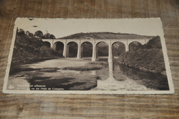 6889-    HERBEUMONT S/SEMOIS, LE VIADUC VU DU PONT DE CONQUES - 1943 - Herbeumont
