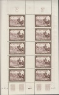 SAARGEBIET  305, Kleinbogen, Postfrisch **, Tag Der Briefmarke 1951 - 1947-56 Occupation Alliée