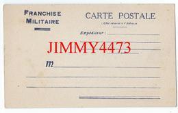 CPA - Franchise Militaire - Guerre 1939-45