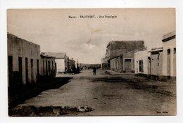 - CPA TAOURIRT (Maroc) - Rue Principale - Edition Millet - - Autres