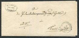 Baden / 1866 / Brief Postablage-Stempel BINNINGEN (Blumenfeld), K2-Stempel Gottmadingen (3/213) - Baden