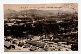 - CPA TAZA-HAUT (Maroc) - Vue Panoramique Du Train Des Equipages Et Des Oliviers 1925 - Photo Benichou - - Autres