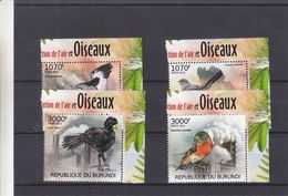 Burundi - COB 1813 / 16 ** - Oiseaux - Grues - Valeur 15 Euros - Burundi
