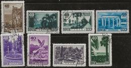 Russie 1949 N° Y&T :  1295 à 1302 Obl. - 1923-1991 URSS