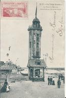 Carte Postale Ancienne De Nantes Le Vieux Nantes Le Tour Du Bouffay Reconstituée - Nantes