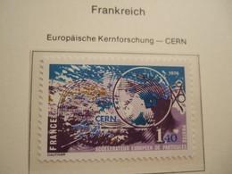 FRANCE      1976.  CERN     MNH.    IS18-NVT - Idées Européennes