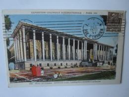 Exposition Coloniale Internationale Paris 1931. Musee Des Colonies. Janniot Laprade Jaussely. Braun 1006 (timbre 1931) - Exhibitions