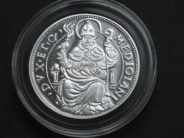 Gros Royal De 6 Sous Au Saint Ambroise Louis XII - Magnifique Copie En Argent Pur *** EN ACHAT IMMEDIAT *** - 987-1789 Monnaies Royales
