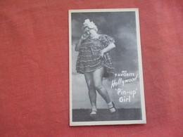"My Favorite Hollywood ""Pin Up Girl ""    Ref 3110 - Pin-Ups"