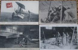 Aviation Lot 9 Cpa Avions Pilotes Aviation - ....-1914: Précurseurs