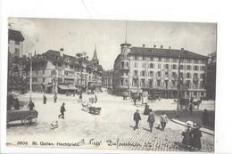 21240 - St.Gallen Hechtplatz - SG St. Gall