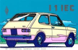 [MD2473] CPM - FIAT 127 - INVITO ALLA PROVA - 55° INTERNATIONAL EXHIBITION MOTOR SHOW - Non Viaggiata - Cartoline