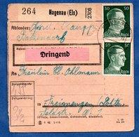 Colis Postal  - Départ Haguenau -  7/12/1942 - Allemagne